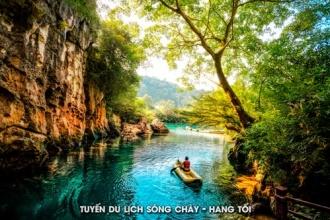 Sông Chày - Hang Tối: Tuyệt tác của mẹ thiên nhiên